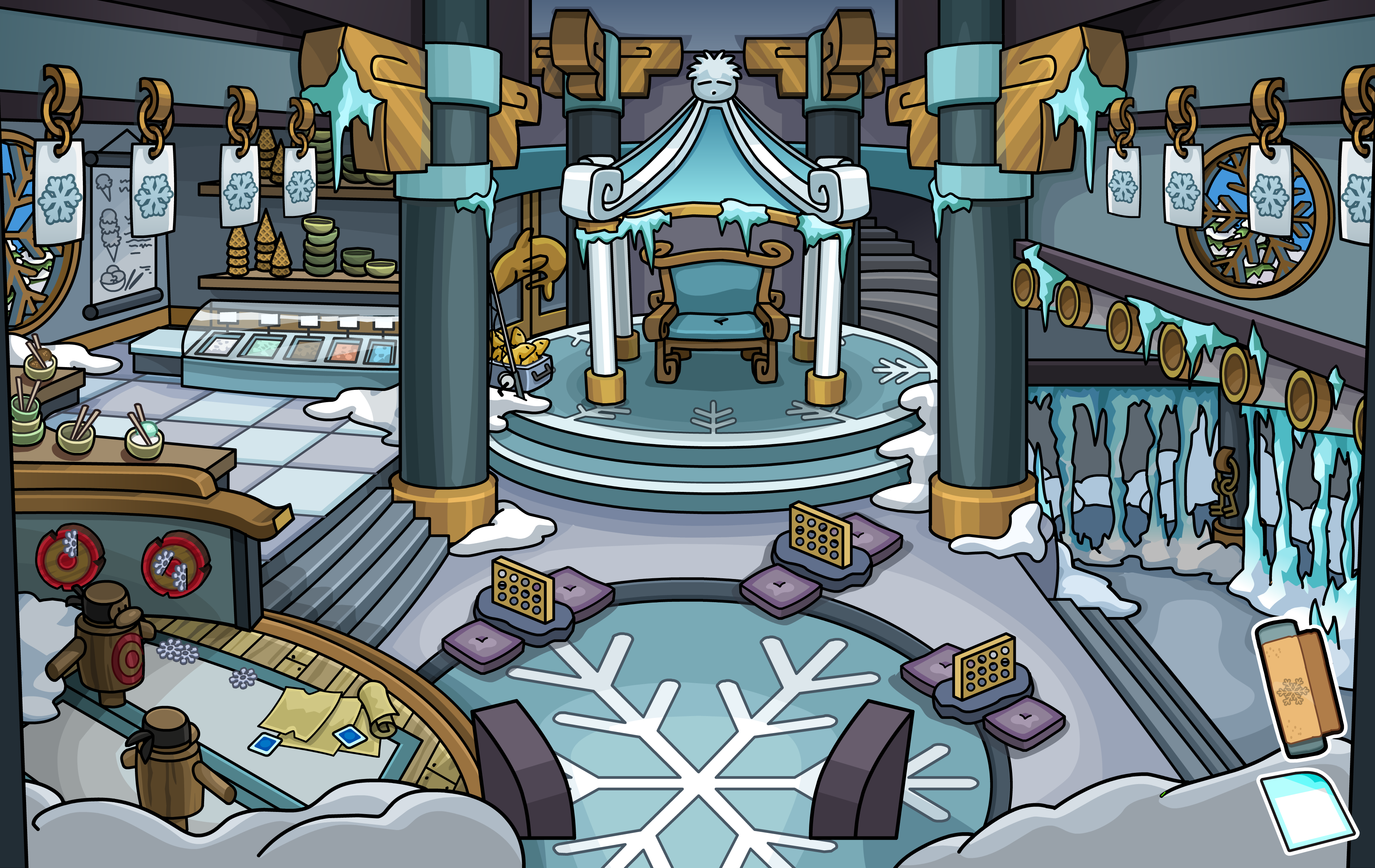 Club Penguin Wiki Chat Logs 24 October 2014 Club Penguin Wiki  # Penguin Lodge Muebles Adder