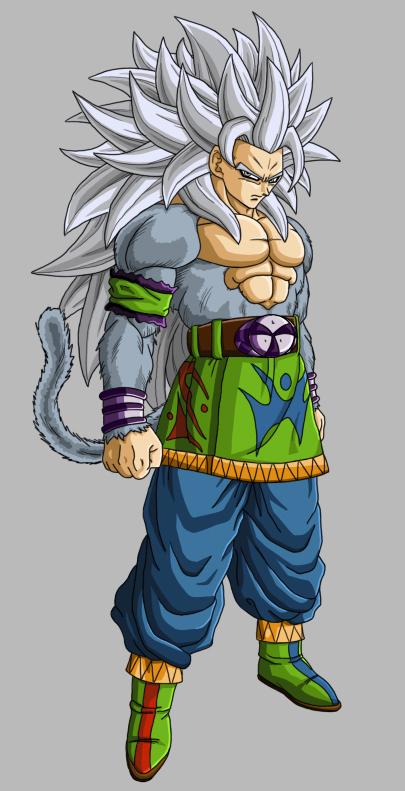 Dragon Ball Z Goku Super Saiyan 5