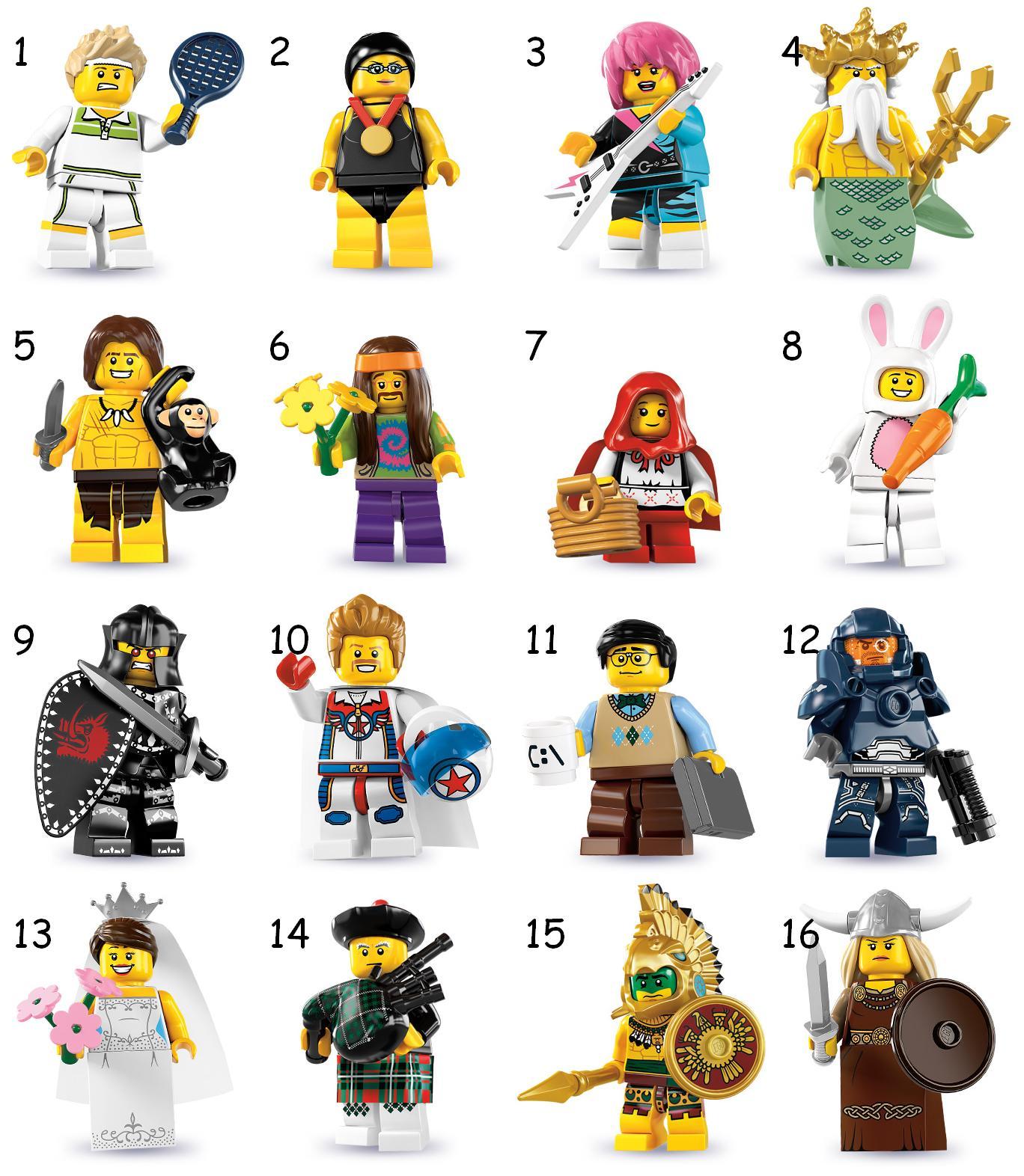 LEGO® Minifigures, Series 7 | LEGO Shop