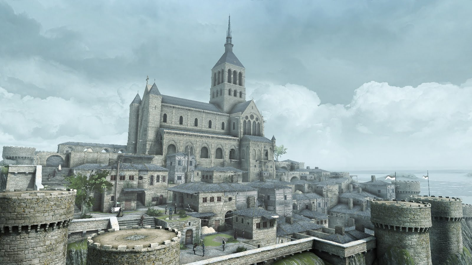 mont saint michel the assassin 39 s creed wiki assassin 39 s creed assassin 39 s creed ii assassin. Black Bedroom Furniture Sets. Home Design Ideas