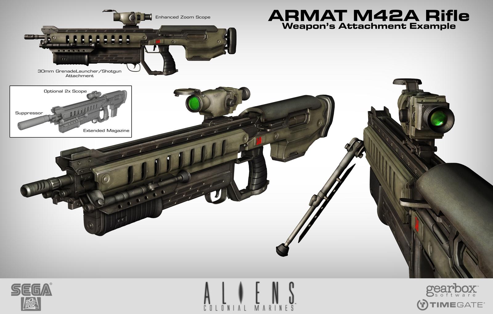 M4ra Battle Rifle Xenopedia The Alien Vs Predator Wiki