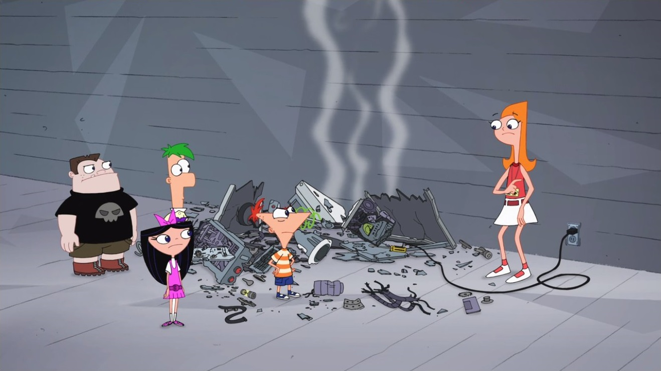 Image - Phineas starting to get mad at candace.jpg ...