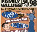 Family values tour 1998