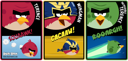 AB FB Choose your terrenceAngry Birds Go Terence