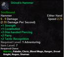 Shinok's Hammer