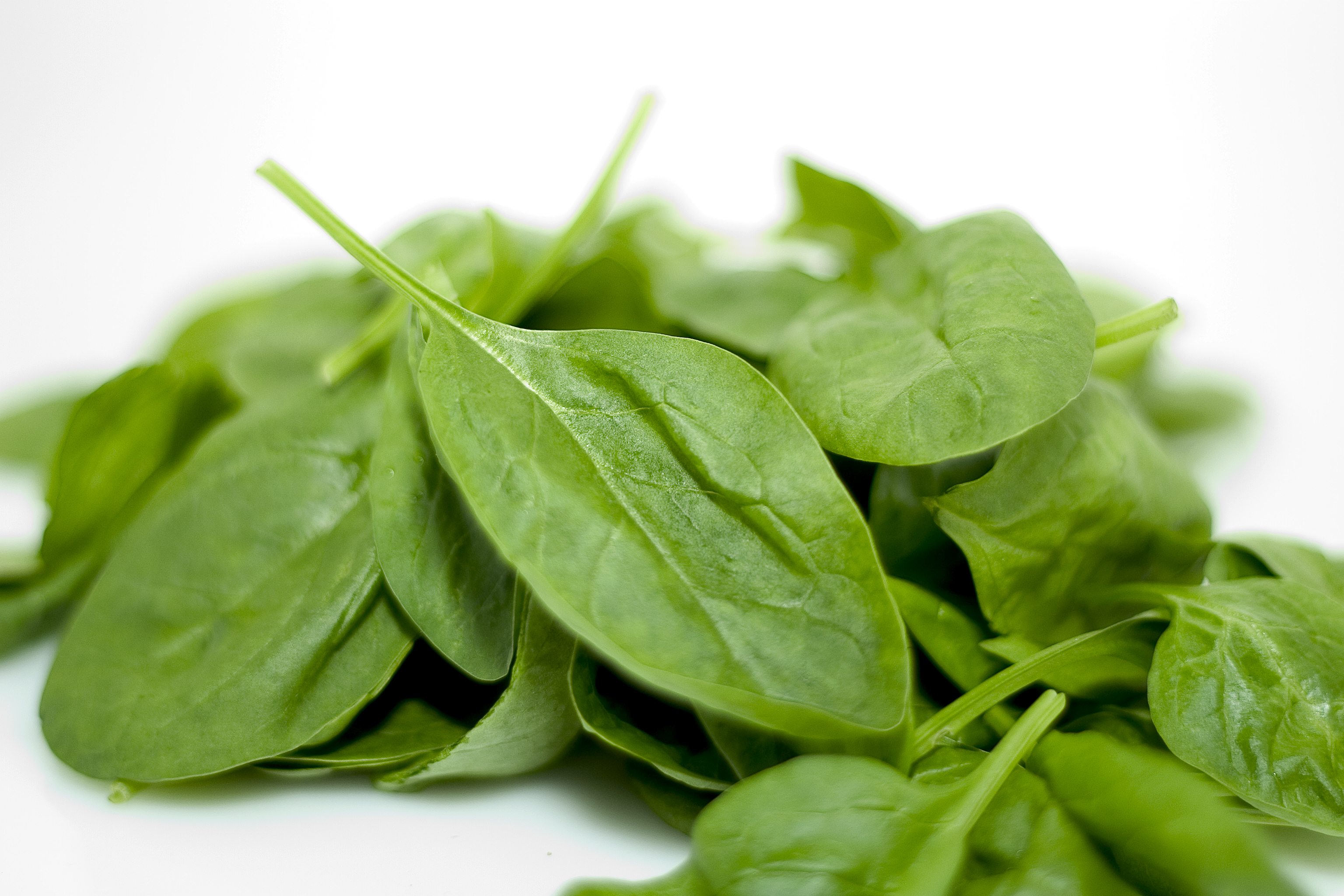 Spinach is great for healthy skin