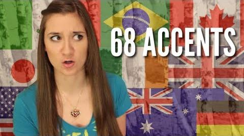 Allie Collins 68 Accents of Dr. Seuss