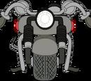 Black Motorbike