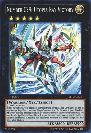 Yu Gi Oh Number C39 Utopia Ray Victory