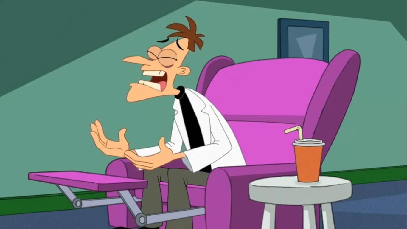 Phineas And Ferb Dr Doofenshmirtz Building Image - Doofens...
