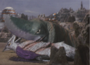 Gamera - 5 - vs Guiron - 18 - Guiron Is About To Murder Space Gyaos.png