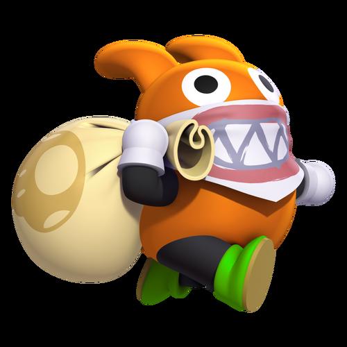Nabbit Fantendo Nintendo Fanon Wiki Wikia