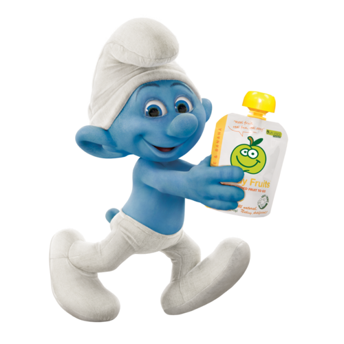 Image - Jokey-with-Buddy-Fruits-original.png - Smurfs Wiki