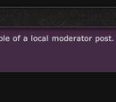Local Moderators