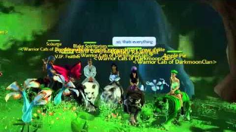 Free Realms Warrior Cats of Darkmoon
