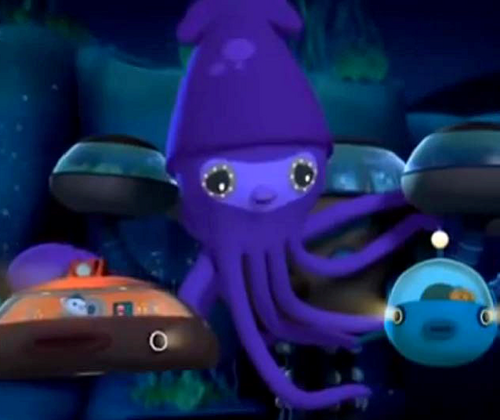 colossal squid octonauts wiki wikia