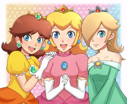 Daisy Cpeach And Rosalina