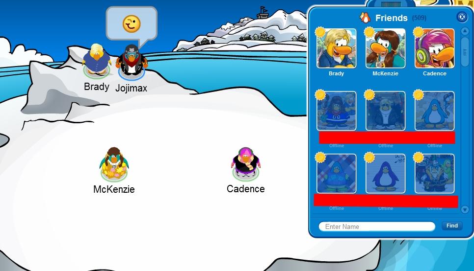 club penguin meet brady and mack