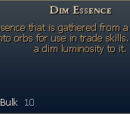 Dim Essence
