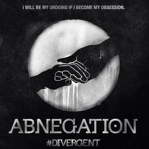 Abnegation Factionless Divergent Symbol