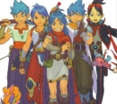 Breath of Fire III Playable Characters
