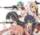 Aria the Scarlet Ammo Series Characters
