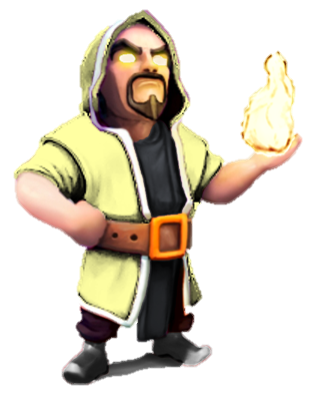 Clash Of Clans Wizard Level 6 Wizard-lvl100Wizard Clash Of Clans Wallpaper
