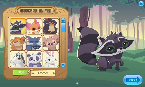 how to get a pet squirrel in animal jam