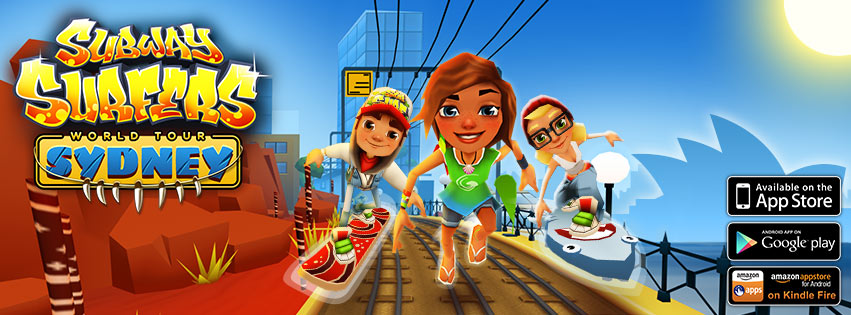 tour sydney is the fourth installment in the subway surfers world tour