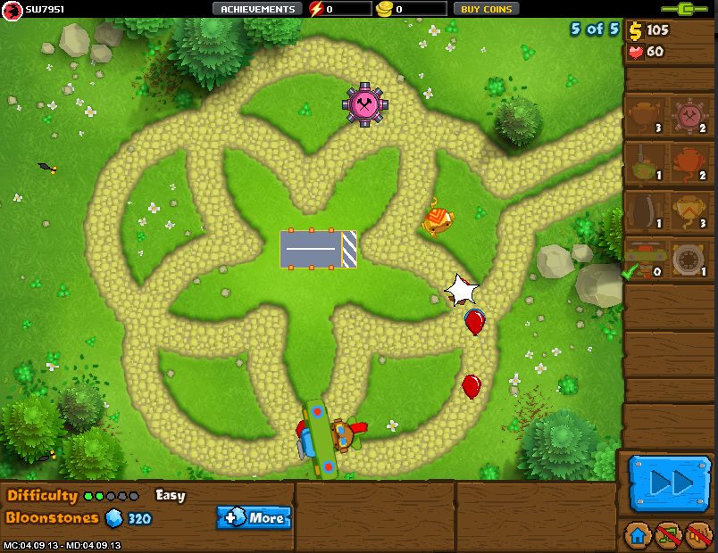 Bloons Tower Defense 5 Hacked Swf - bodywavemojo