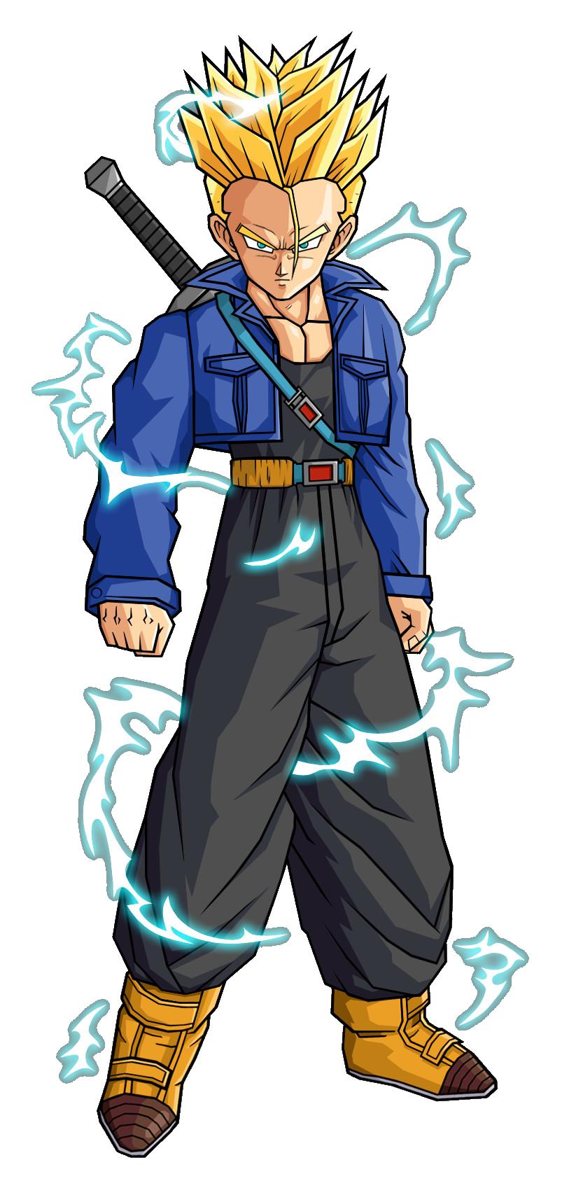 Future trunks dragon ball power levels wiki - Trunks super sayen ...