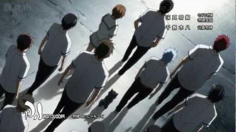 Kuroko no Basuke 黒子のバスケ Ending 2 - 「Catal Rhythm (カタルリズム)」 by OLDCODEX