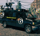 "Anchor News Van ""Canal 6"" (Saints Row IV)"