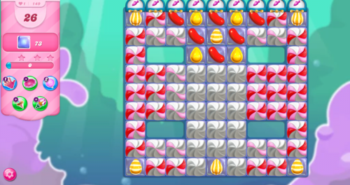 Candy Crush Level 149 Symbols