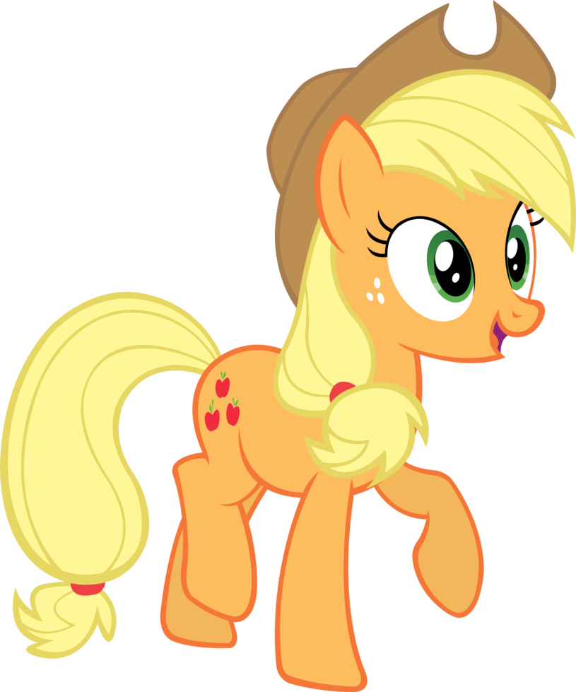 My little pony: Friendship is magic FANMADE_Applejack_vector_by_Qsteel
