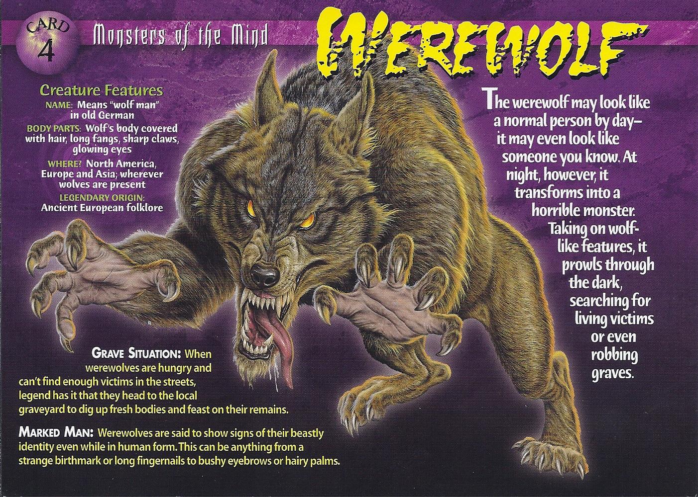 Werewolf vs weretiger - photo#52
