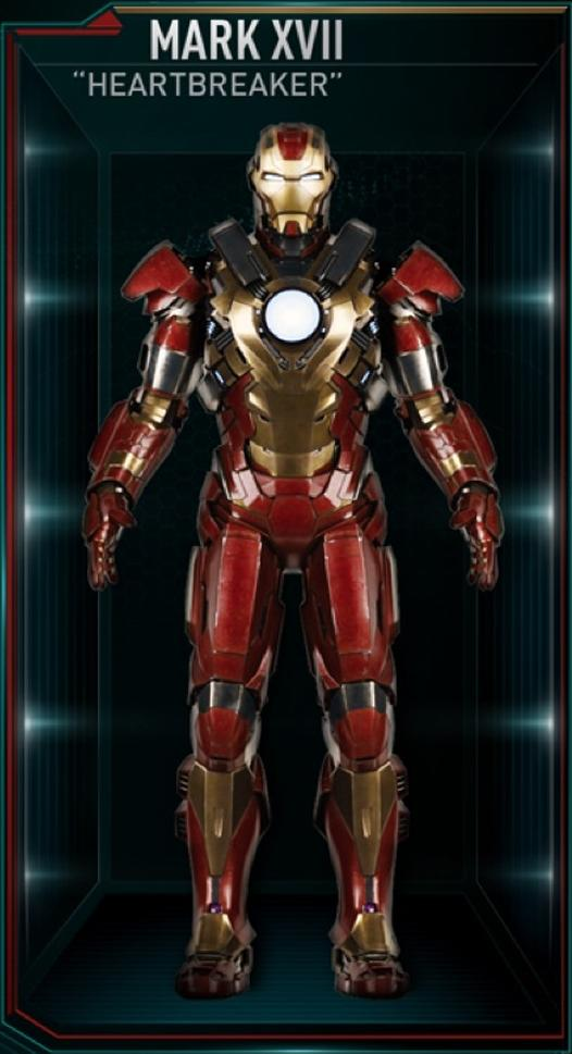 Iron Man 3 Armor Suits Mark 17 Gallery