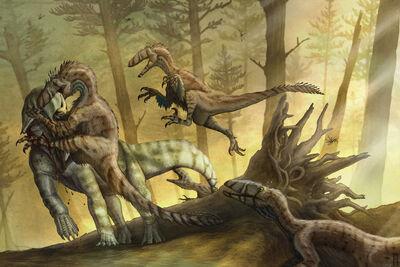 Epanterias Vs Deinonychus Pack Of 6 Dinosaurs Forum