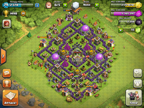 Image my th8 layout georgeyao png clash of clans wiki