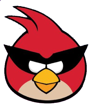image super red front angry birds wiki. Black Bedroom Furniture Sets. Home Design Ideas