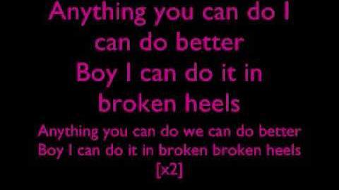 Alexandra Burke - Broken Heels Lyrics D