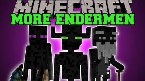 Minecraft MORE ENDERMEN (TRADING, STRUCTURES, MYSTIC WANDS) Farlanders Mod Showcase