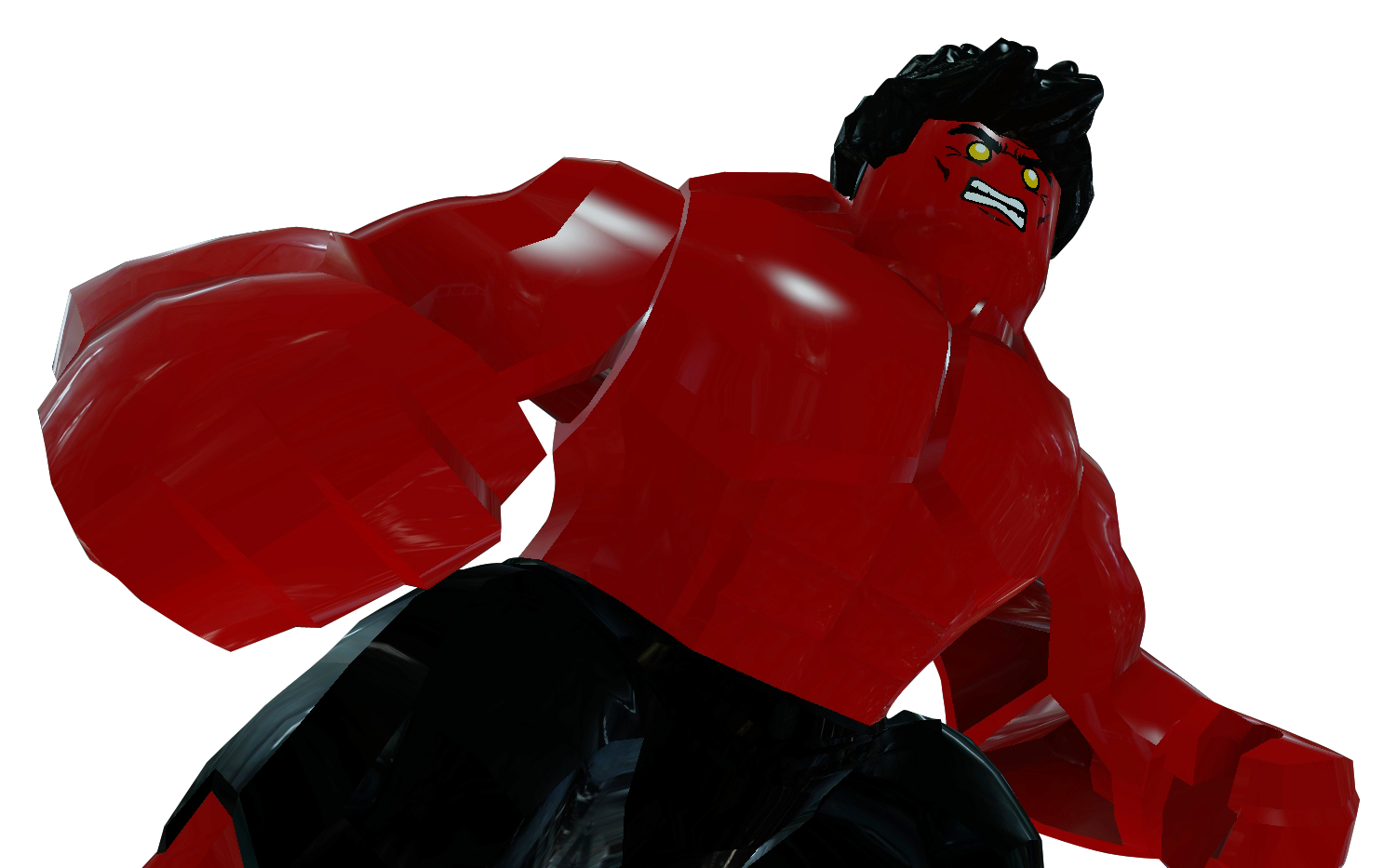 Red hulk brickipedia the lego wiki - Pictures of red hulk ...