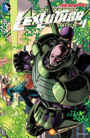 Cover for {{{Title}}} #23.3: Lex Luthor (2013)