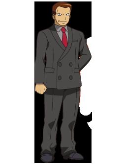 Líderes de Gimnasio [Kanto] Giovanni_(anime_XY)