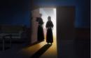 Renji and Rukia enter Byakuya's office.png