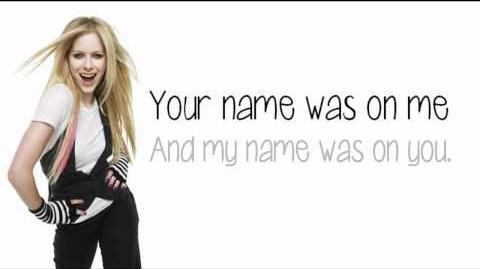 Avril Lavigne - Smile (Lyrics) New Song 2011