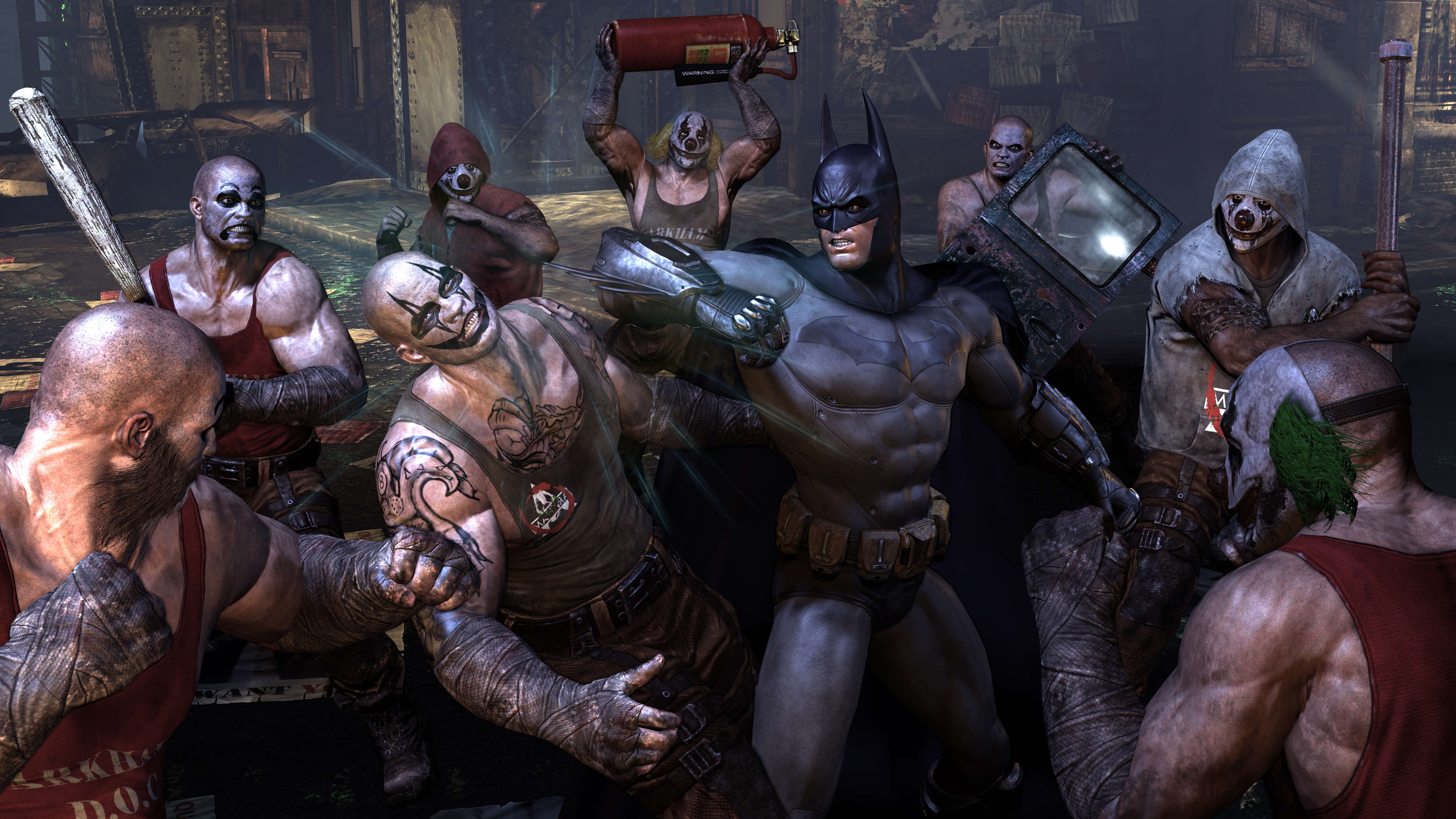 batman arkham city список миссий