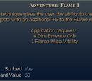 Adventure: Flame I
