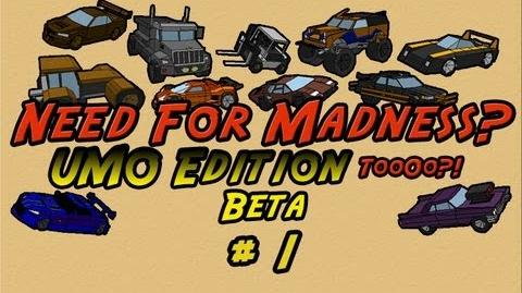 Let's Play Need For Madness 2 UMO Edition 2 BETA - PART 1 A New Beginning By Ultimato